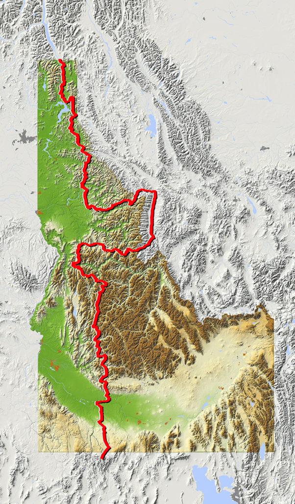 Idaho Backcountry Discovery Route (IDBDR) Map & Information on idaho travel map, idaho map with towns, boise idaho state map, idaho speed limit map, idaho highway map, idaho traffic flow map, idaho topographic map, idaho temperature map,